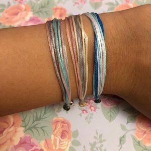 3 ✨pura vida✨ inspired bracelets (neutral edition)